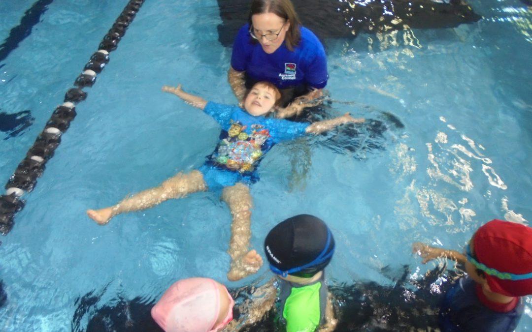 Karearea can swim!
