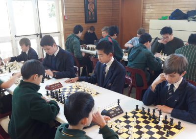 Chess Competition - Wentworth Team