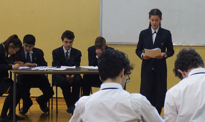 Wentworth Debating Team