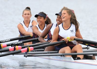 Girls Rowing - Wentworth