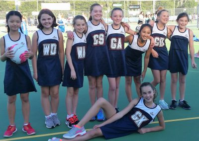 Year 7 Wentworth Netball Team