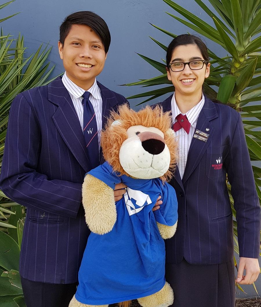 Anya & Khun - Fleming House Leaders