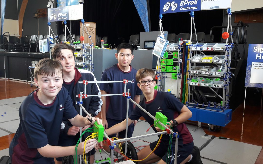 Wentworth Students attend E-Pro 8 Engineering competition